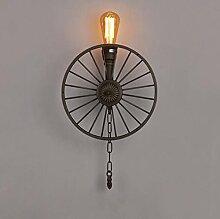 *wandlampe Weinlese-Wasserrohr-Wandlampe,