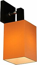 Wandlampe - Wero Design Murcja-023 A Orange - 10 Varianten, Spot, Wandleuchte, Leuchte, Lampe, Massivholz, Eiche, Eichenholz