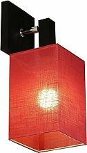 Wandlampe - Wero Design Murcja-023 Rot Tansparent