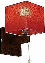 Wandlampe - Wero Design Vigo-024 B (ROT) - 7
