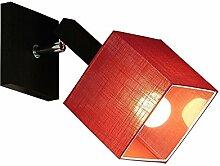 Wandlampe - Wero Design Vigo-025 B Rot Tansparent
