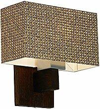 Wandlampe - Wero Design Vitoria-016 A CHINA GRASS - 14 Varianten, Wandleuchte, Leuchte, Lampe, Massivholz, Eiche, Eichenholz