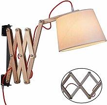 Wandlampen Innen Holz Wandlampe mit Schalter und