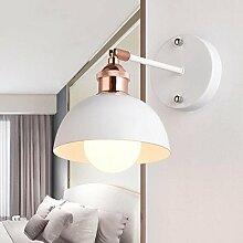 Wandlampen LED Kreativ Einstellbare Kipphebel Industriell Metall E27 Lampenschirm Persönlichkeit Nachttisch Dekoration Innen Beleuchtung Befestigung Treppe Gang , B