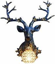 Wandleuchte,Amerikanische Hirschkopf Wandlampe
