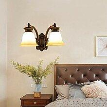 Wandleuchte,Amerikanische Nachttischlampe Einfache