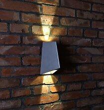 Wandleuchte Beam 4, 2x4 W COB LED, 15 + 60 Grad, 3000 K, IP54 10338