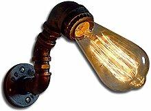 Wandleuchte Design Metallrohr Leuchte Industriell
