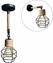 Wandleuchte E27 Retro Iron Wandlampe Antik