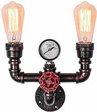 Wandleuchte E27 Vintage Wandlampe Antique Flame