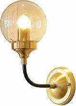 Wandleuchte,Einfache Nachttischlampe Volle