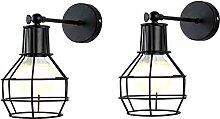 Wandleuchte, Einstellbar Metall Wandlampe Halter