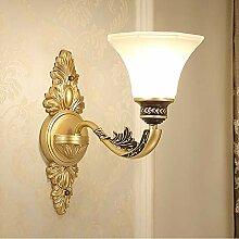 Wandleuchte,Europäische Nachttischlampe Wandlampe