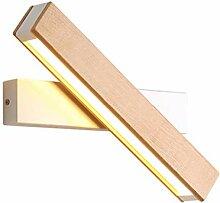 Wandleuchte, Holz Aussen Industrial Stil LED