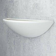 Wandleuchte in Weiß Bauhaus Design 1xE27 bis zu