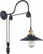 Wandleuchte, Industrial Stil Retro Wandlampe,