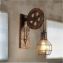 Wandleuchte Industrielle Vintage Wandlampe Wind