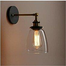 Wandleuchte Industrielle Vintage Wandlampe