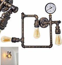 Wandleuchte Kolyma, moderne Wandlampe aus Metall