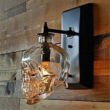Wandleuchte Kreative Kunst Vintage Wandlampe
