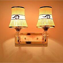 Wandleuchte kreative Wandleuchte led Wandleuchte Schlafzimmer Bett Beleuchtung einfache, moderne pastorale Treppen Flurbeleuchtung