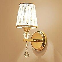 Wandleuchte kreative Wandleuchte Moderne einfache Europäische Bett wand Lampe, Wohnzimmer Beleuchtung, hotel Wandleuchte Engineering Lampen