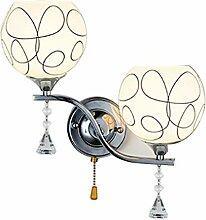 Wandleuchte- Kristall Wandlampe - Moderne