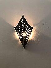 Wandleuchte Lampe Laterne Marokkanische Schmiedeeisen Handwerk Marokko Ethnic 1215