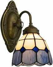 Wandleuchte Lampe Tiffany Style Glasschirm Lampe