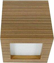 Wandleuchte LED 4W | Wandlampe Eiche Holz furniert