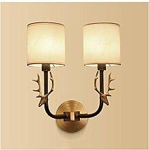 Wandleuchte LED Innen Kupfer Wandlampe Moderne E14
