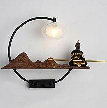 Wandleuchte,LED Nachttischlampe chinesische
