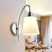 Wandleuchte Led Schlafzimmer Nachttischlampe Glas Kreative Einfache moderne Aisle Korridor Eingang Lampe