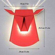 Wandleuchte, LED Wandlampe mit warmweiß Wirkung,
