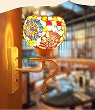 Wandleuchte Light Wall color Bett Flur Balkon cafe