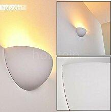 Wandleuchte Linares aus Keramik weiß, Wandlampe