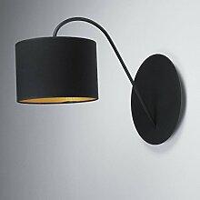 Wandleuchte Loft im modern Stil schwarz