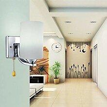 Wandleuchte mit Zugschnur Schalter Kordel Modern