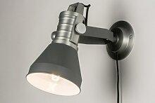 Wandleuchte Modern Industrielook Coole Lampen Grob Grau