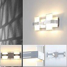 Wandleuchte modern LED 2x5W | Wandlampe -