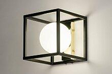 Wandleuchte Modern Retro Art Deco Glas Mit