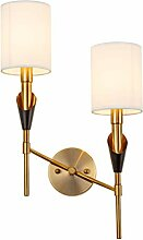 Wandleuchte, Modern Tuch Lampenschirm Dekoratives