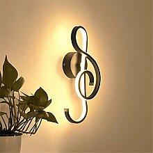 Wandleuchte Musiknote Led Wandlampe