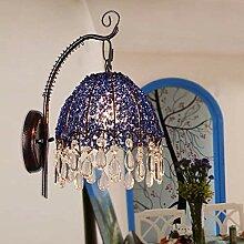 Wandleuchte Nordic Einfache Schlafzimmer Bett Blue