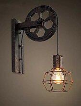 Wandleuchte Retro Industrie-Stil Wandlampe