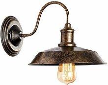 Wandleuchte RustikalWandlampe Antik Metall
