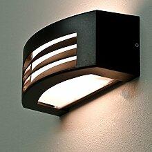 Wandleuchte Schwarz B:29cm H:12cm Modernes Design