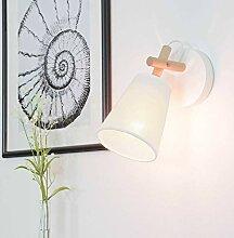 Wandleuchte Skandinavisches Design Creme Weiß