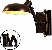 Wandleuchte Vintage mit Schalter Wandlampe