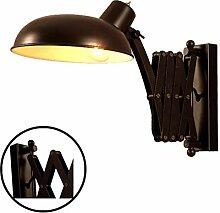 Wandleuchte Vintage mit Schalter, Wandlampe
